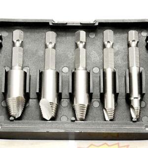 5pcs-1-4-Inch-6-35mm-High-Speed-Steel-Screw-Extractor-Sliding-Broken-Head