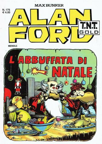 Max Bunker Alan Ford TNT Gold n.175