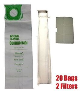 To-Fit-Sebo-Windsor-Service-Box-Vacuum-Bag-and-Filter-Kit-20-Bags-2-Filters