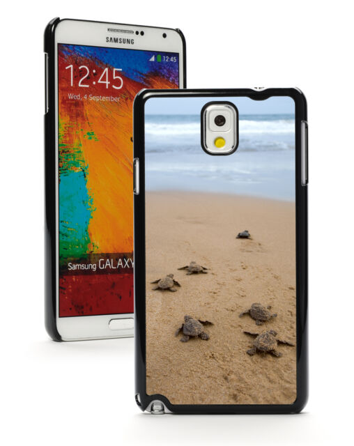For Samsung Galaxy Note 2 3 4 5 Hard Case Cover 184 Baby Sea Turtles on Beach