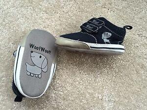 Bebé Chicos 3-6 MTH Woof Woof Pre-Walker' ' Zapatos