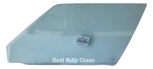 1983-1986 Toyota Camry 4Door Driver Side front Left Door Window Glass