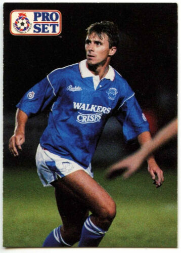 C364 David Kelly Leicester City #175 Pro Set Football 1991-2 Trade Card