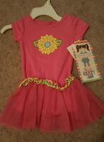 Youngland Krazy Legs Infant Girls Shirt/tutu, Sz. 12 Months