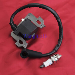 Ignition Coil Spark Plug For Honda GCV135 GCV160 HRR216 ...