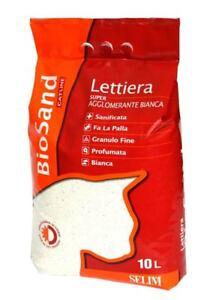 Lettiera-Biosand-Super-Agglomerante-Bianca-10-Lt