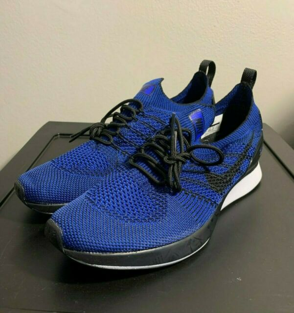 NEW Nike Air Zoom Mariah Flyknit Racer Blue Running Shoes 918264 007 Mens Sz 9.5