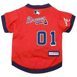 NEW-ATLANTA-BRAVES-PET-DOG-PREMIUM-MLB-JERSEY-w-NAME-TAG-ALL-SIZES