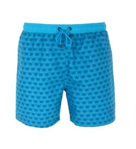 5ad8b2470b Mens Hugo Boss Piranha Blue Crab Print Swim Shorts Size Ex-Large ...