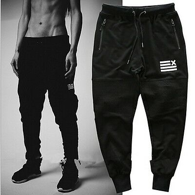 Men Camo Jogger Sportwear Baggy Harem Casual Pants Slacks Trousers Sweatpants