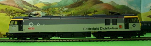 Lima Class 92 Electric Loco 92030 ASHFORD Railfreight Distribution grey OO (L)