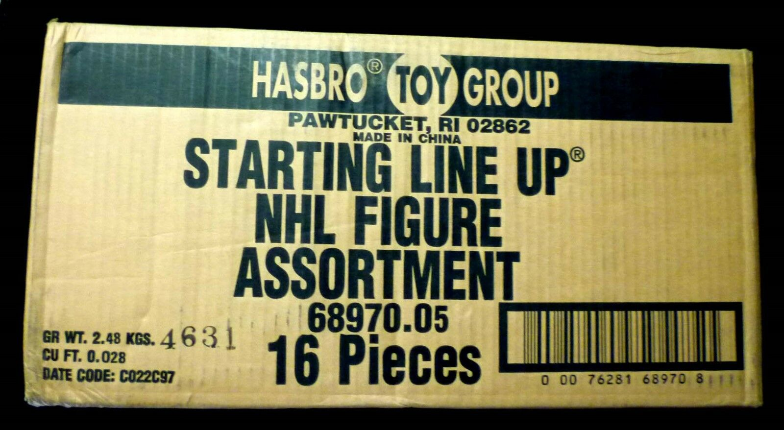 SLU NHL Starting Line Up Factory Sealed Case New from 1997 16 Figures