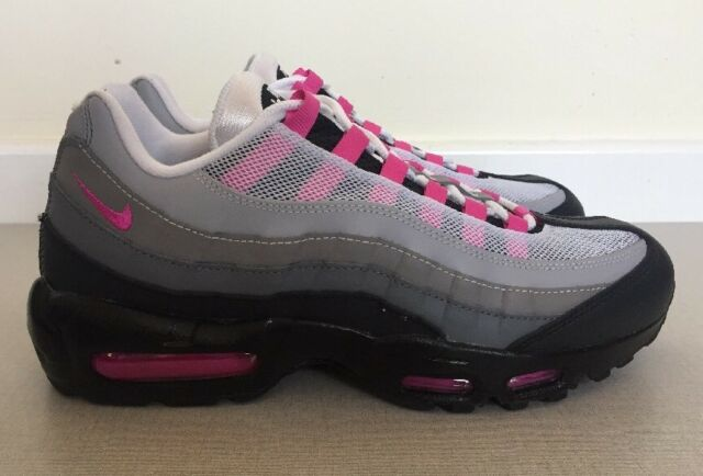 timeless design 5c126 718bd WMNS Nike Air Max 95 ID Size 8 UK 42.5 EUR Grey Pink OG Colour Way 818593  995 for sale online   eBay