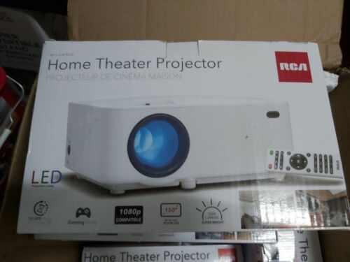 RCA RPJ119 WVGA 150 in  Home Video Projector