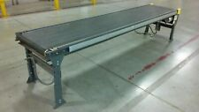 28 Wide Knapp Brand Belt Conveyor 12 11 9 And 11 5 Lengths Motor Legs