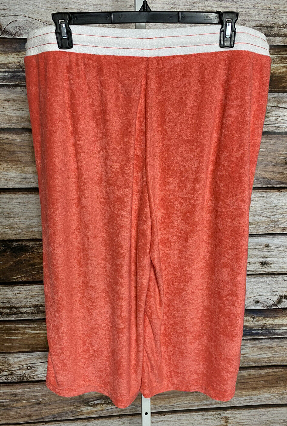 Cuddl Duds Baby Terry Gaucho Pants Womens Sz 1X T… - image 4