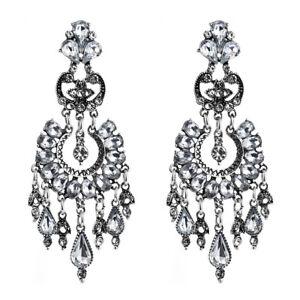 Beautiful-Fashion-Retro-Rhinestone-Chandelier-Earrings-Clear