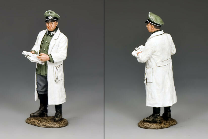 KING AND COUNTRY Wehrmacht Doctor Doctor - WW2 German WS261