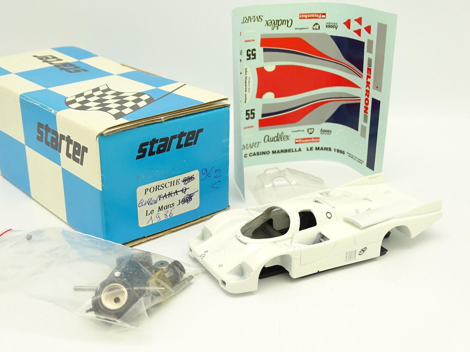 Starter Kit à Monter 1 43 - Porsche 962 C Elkron Le Mans 1986