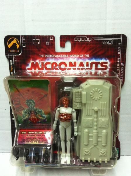 Palisades Micronauts TIME TRAVELER MEDIC Series 1.5 MOC 2003