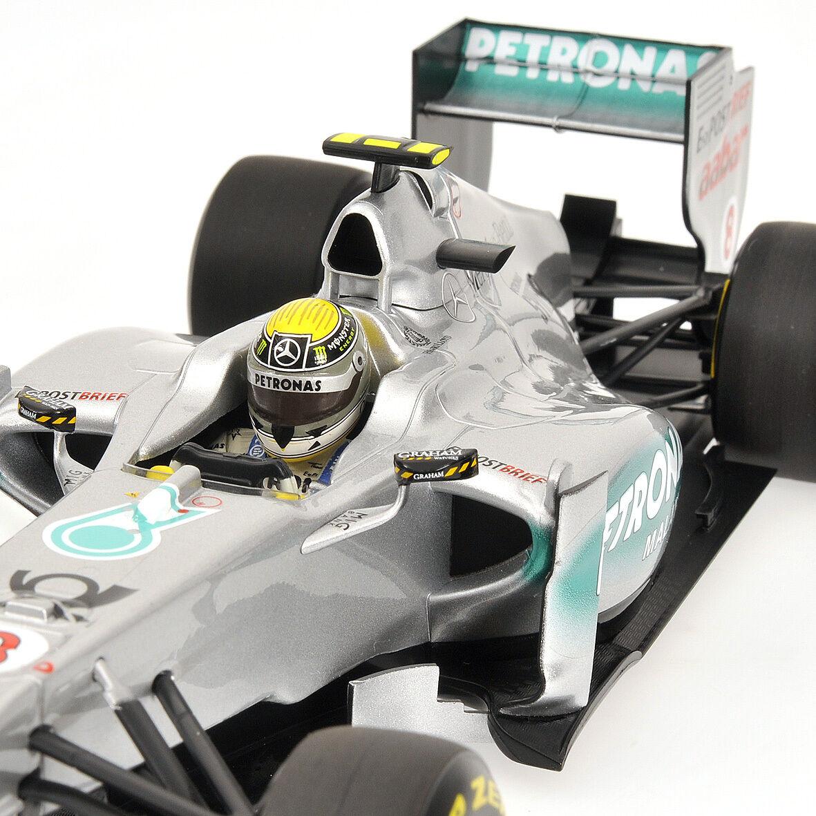Formula 1 mercedes mgp w02 n. rosberg 2011 minichamps 1  18  pas cher et de la mode