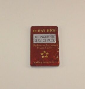 Valley-Games-D-DAY-DICE-DISTINGUISHED-SERVICE-PACK-Kickstarter-Exclusive-NEW