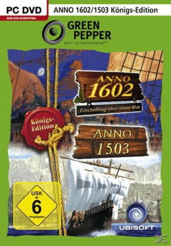 1 von 1 - Anno 1602 & Anno 1503 - Königs Edition (PC, 2016, DVD-Box)