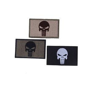 Swat-Punisher-Schaedel-militaerische-taktische-Patch-Armee-Abzeichen-Armbahkl