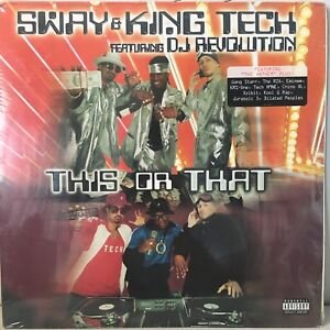 SWAY-amp-KING-TECH-THIS-OR-THAT-VINYL-2LP-1999-RARE-RZA-XZIBIT-EMINEM