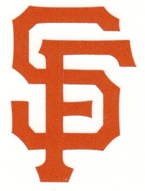 48b03edc Reflective San Francisco Giants Fire Helmet Decal Sticker RTIC Hardhat