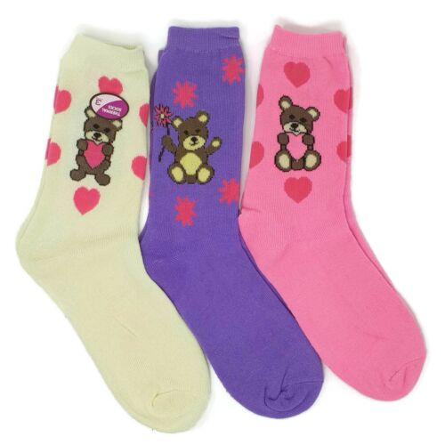 Ladies 3 Pairs Socks Women/'s Cotton mix Thermal /& Non size 4-6