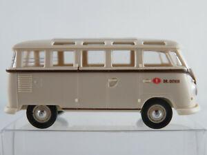 Brekina-VW-samba-de-Luxe-t1-1954-034-el-dr-Oetker-034-1-87-h0-nuevo-sin-usar