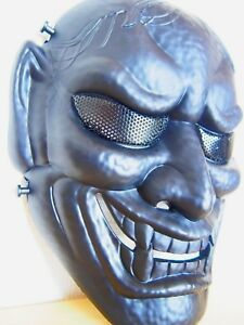Samurai-Hannya-Oni-Tactical-Half-Face-Airsoft-Mask-BB-Evil-Demon-Monster-Kabuki