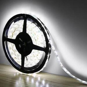 5M-3528-SMD-White-300-Led-Strip-Light-Nonwaterproof-Car-12V-16-4ft-Lamp-Tape