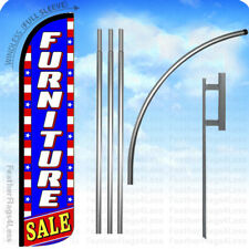 Furniture Sale Windless Swooper Flag 15 Kit Feather Banner Sign Stars Bz
