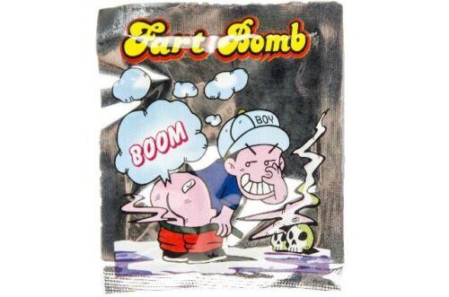 5//10//15//20 Stinkbomben Fart Bomb Bag Furzbomben faule Eier Gestank Knalltüte