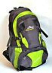New-35-Litre-Camping-Walking-Rucksack-Backpack-Grey-Red-Black-Waist-Chest-Strap