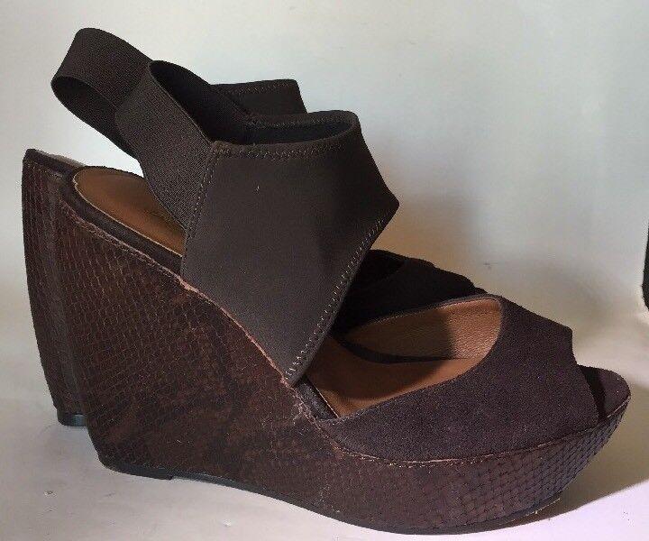 produttori fornitura diretta DONALD J. PLINER Donna  9M Marrone Marrone Marrone WEDGES Sandals Heels  alta qualità generale