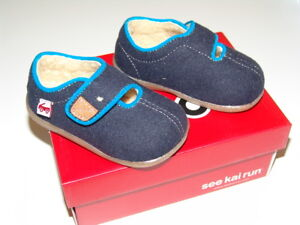 Details About See Kai Run Navy Cruz Casual Warm Shoes New With Box Sizes 5 11 Us Toddler