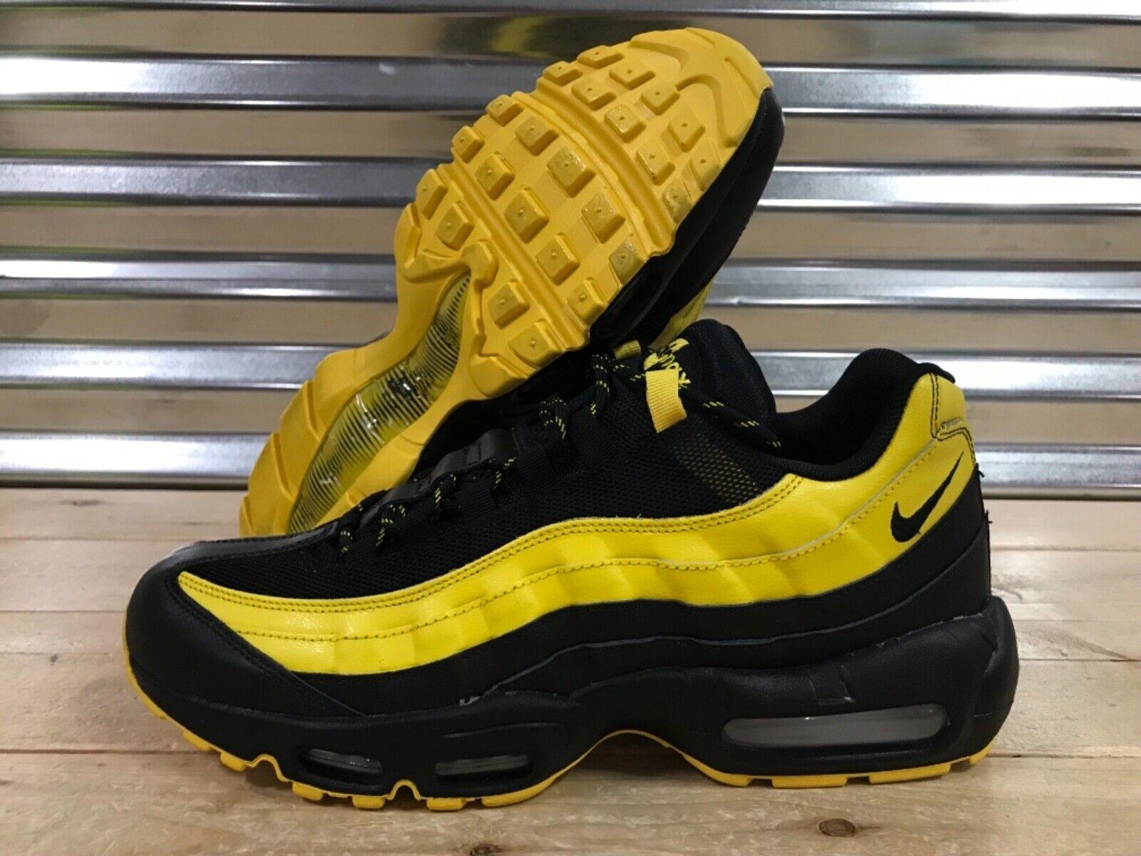 2c381271ca Nike Air Max 95 Premium Pack shoes Tour Yellow Black ( AV7939-001 ) SZ  Frequency nuxhgp4042-Men's Athletic Shoes