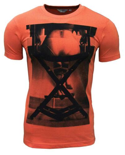 Admiral Men/'s Directors Chair T Shirt Orange