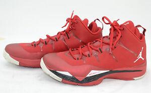 b434f588f90 Jordan Flight Plate Mens Sz 10.5 Red Basketball Athletic Sports ...