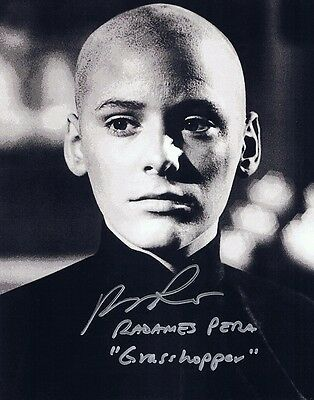 Radames Pera Signed Autographed 8x10 Photo w//COA Grasshopper of  Kung Fu