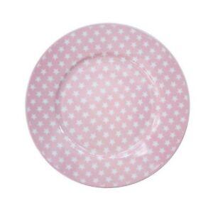 Kuchenteller-Dessert-plate-stars-pink-rosa-Sterne-HP2014-Krasilnikoff