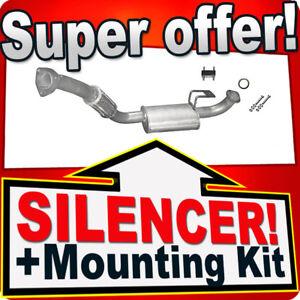 Silencer for Toyota Land Cruiser (J8) 4.2 TD 1990-1998 Avant Exhaust