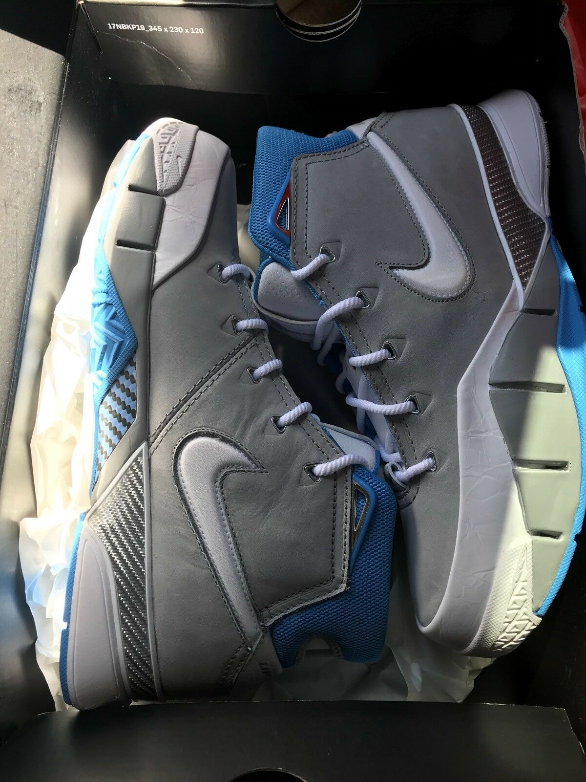 low priced 20148 43b76 2018 - Nike Kobe Bryant 1 Protro MPLS MPLS MPLS Wolf Grey White University  Blue Size