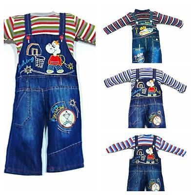 ♥ Neu ♥ Babykleidung |2-teilig|, Oberteil, Strampelhose | Gr. 80 ; 86 | Clear-Cut-Textur