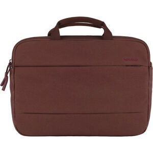 """Incase City Brief Laptop Bag for 15"""" MacBook Pro - Deep Red INCO300170-DRD"""