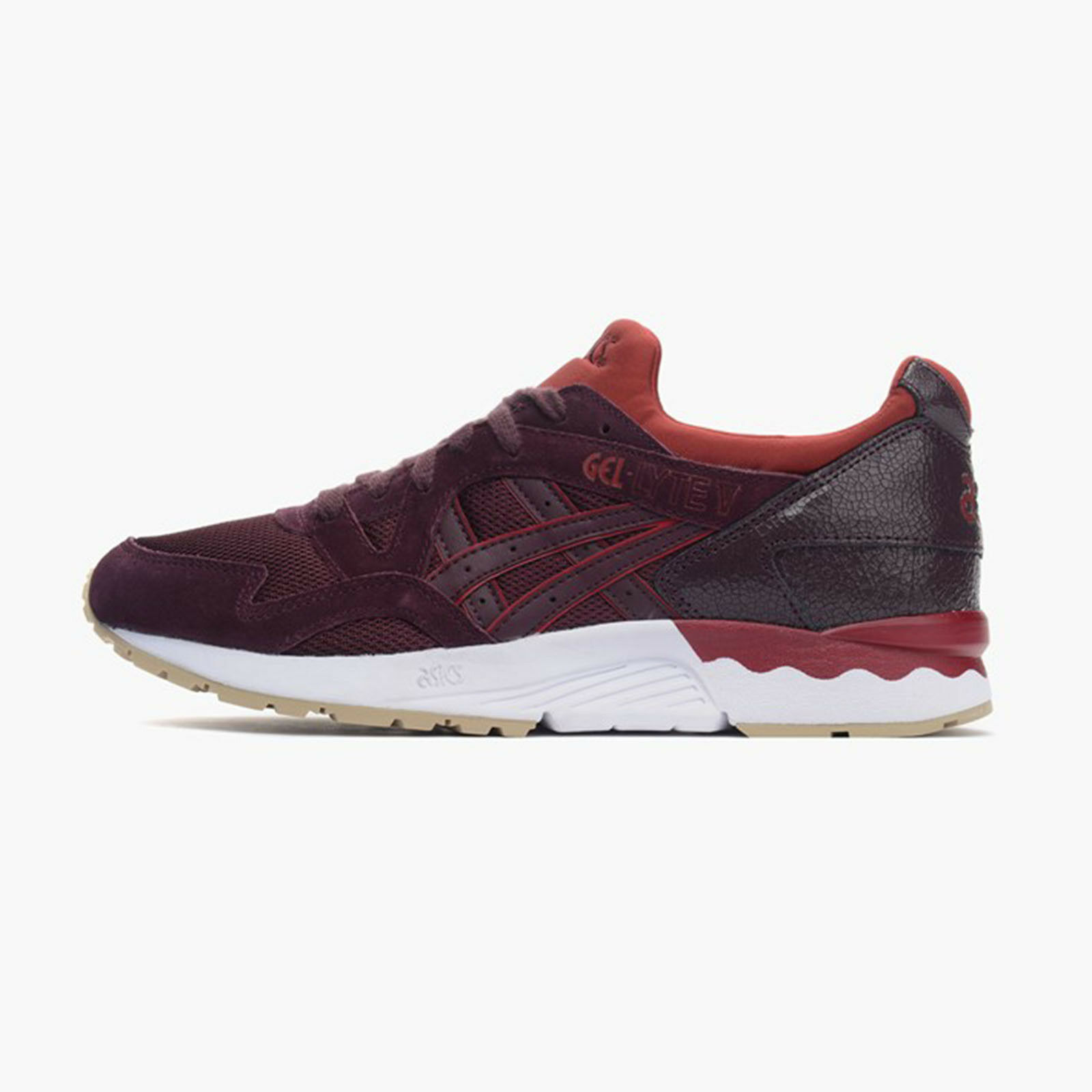 Asics Tiger GEL-Lyte V [H6Q4L-5252] Men Casual shoes Rioja Red
