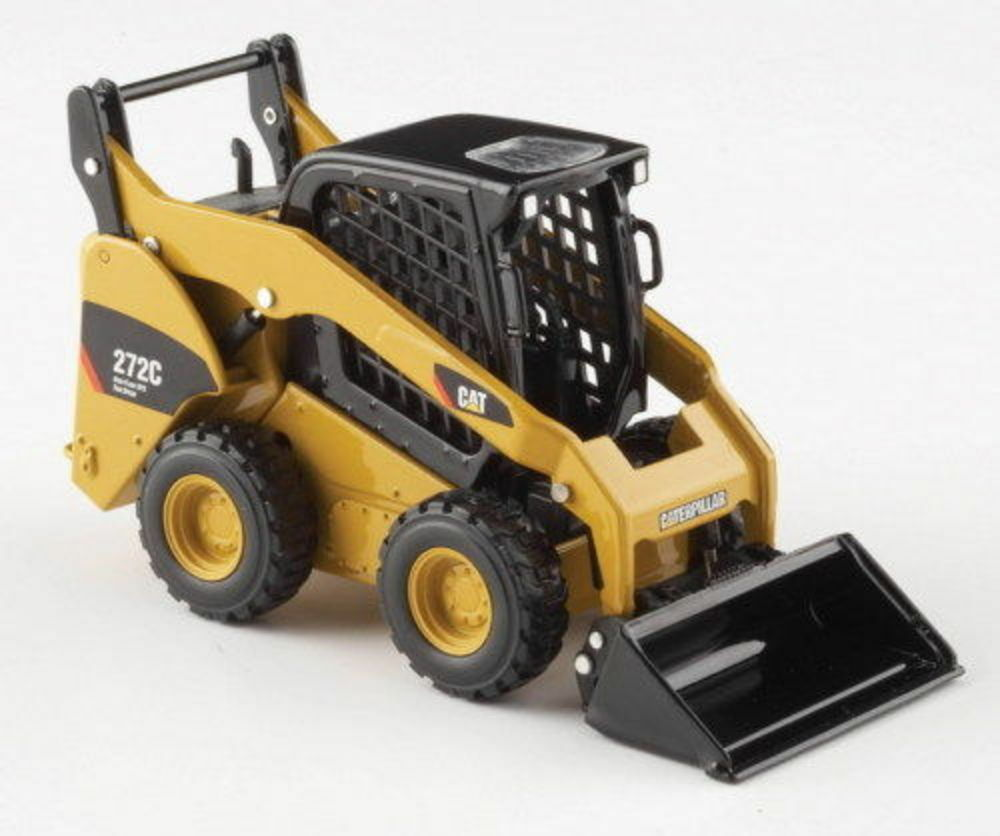 Norscot CAT 1 32 DIE CAST BOBCAT CAT 272c skid steer loader + accessories 55167